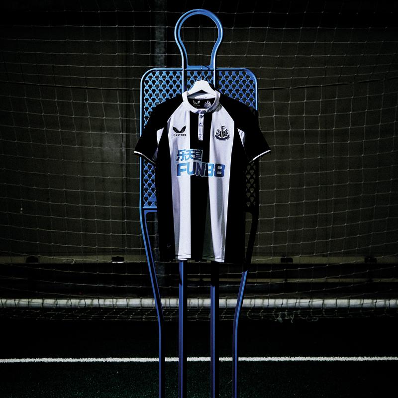 Maillot Newcastle 2021-2022 domicile Castore