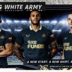 Les maillots de Newcastle 2021-2022 officialisés par Castore