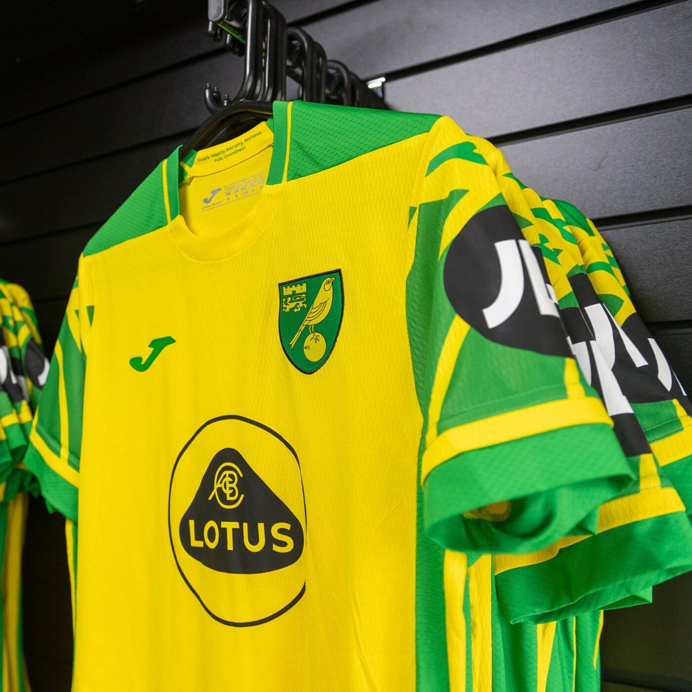 Maillot Norwich City 2021-2022