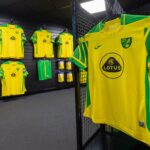 Les maillots de Norwich City 2021-2022 dévoilés par Joma
