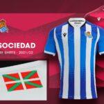 Les maillots de la Real Sociedad 2021-2022 officialisés par Macron