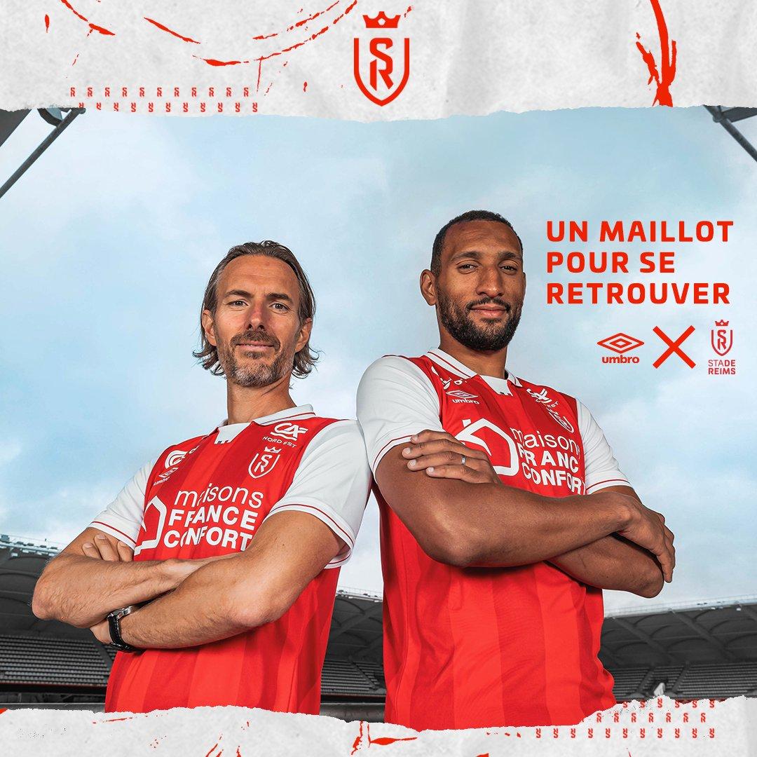Maillot Stade de Reims 2021-2022 Umbro