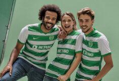 Image de l'article Les maillots du Sporting Portugal 2021-2022 présentés par Nike