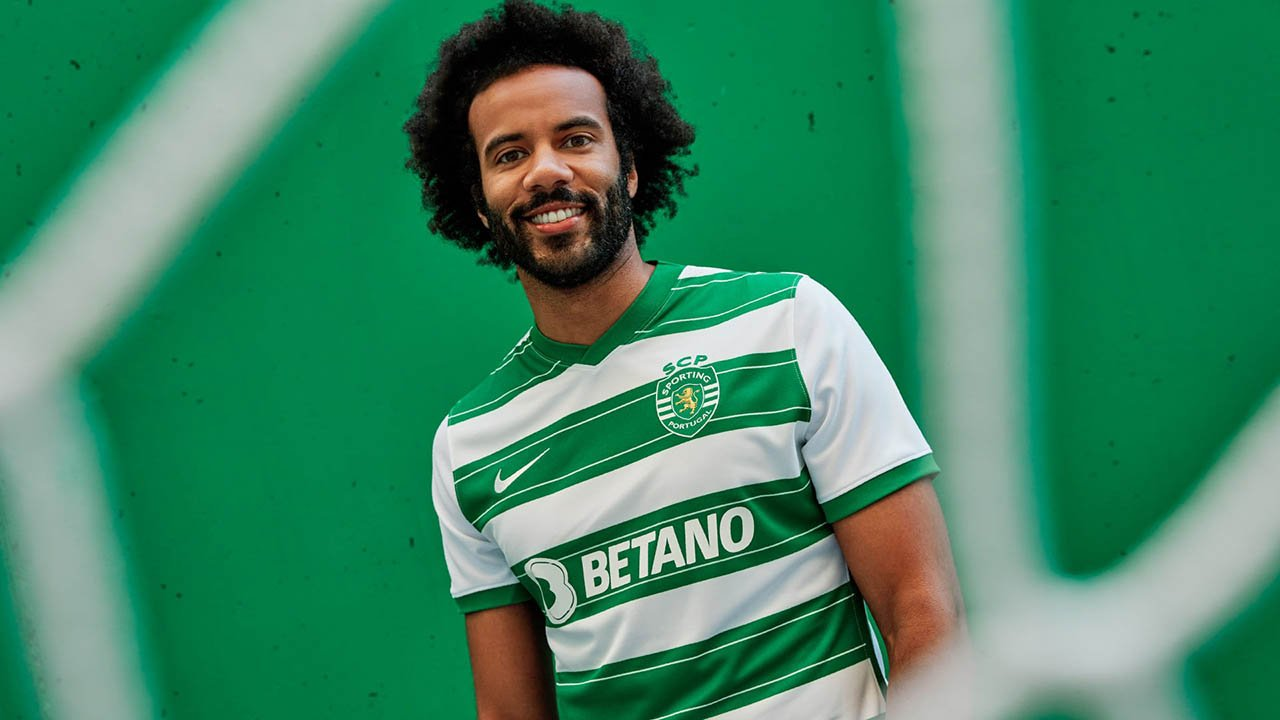Maillot Sporting Portugal 2021-2022 Nike