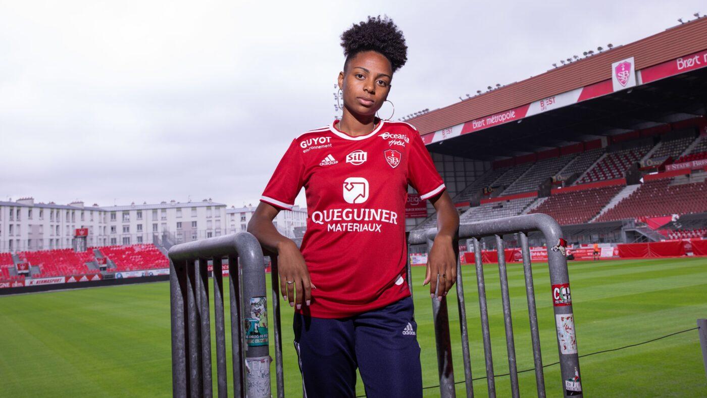 Maillot Stade Brestois domicile 2021/2022 adidas