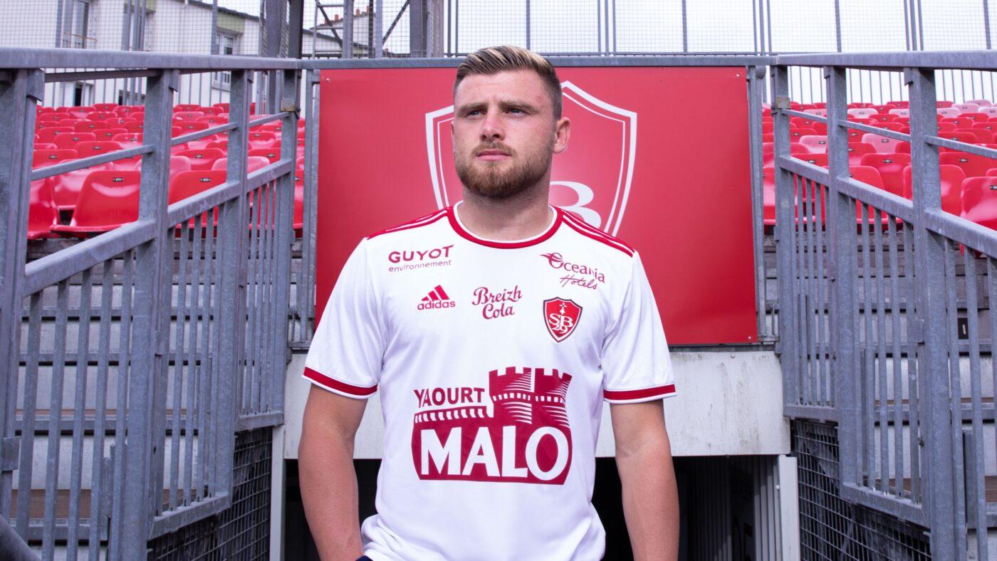 Maillot Stade Brestois extérieur 2021/2022 adidas