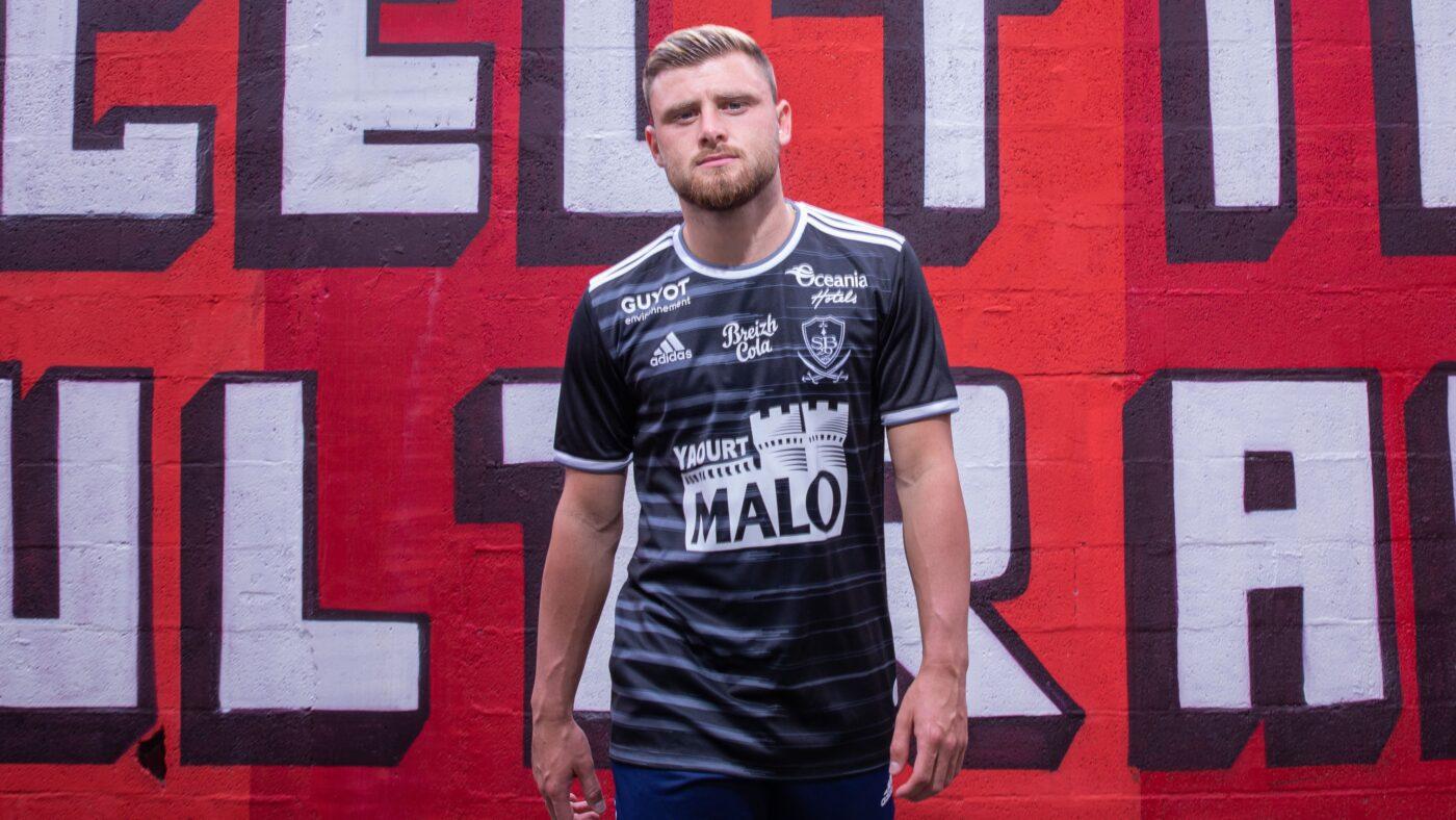 Maillot Stade Brestois third 2021/2022 adidas