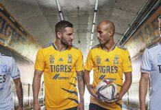 Image de l'article Les maillots des Tigres 2021-2022 présentés par Gignac et Thauvin