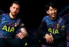 Image de l'article Nike présente le très suprenant maillot extérieur de Tottenham 2021-2022