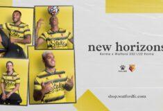 Image de l'article Les maillots de Watford 2021-2022 présentés par Kelme
