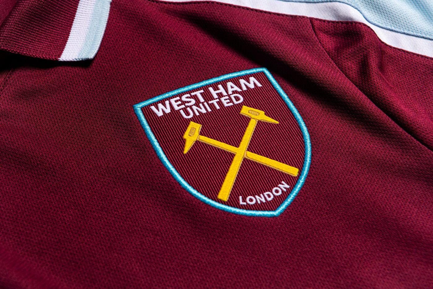 Maillot West Ham 2021-2022 Umbro