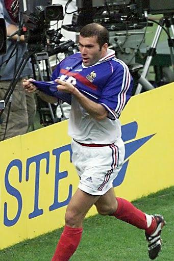 Maillot Zidane France 1998 enchères