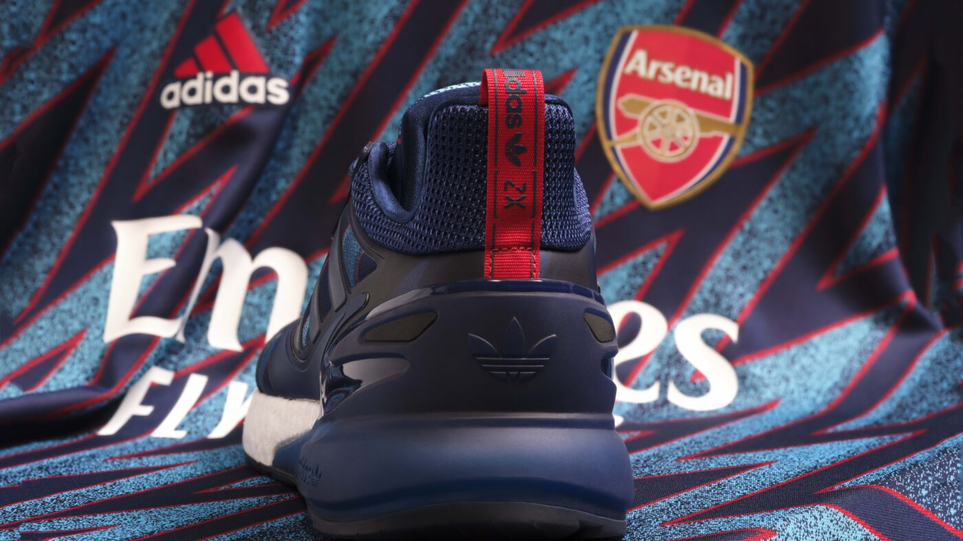 adidas ZX 2K boost Arsenal