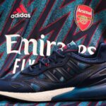 Des sneakers adidas aux couleurs des maillots third d'Arsenal, de la Juventus, de Man Utd et du Bayern