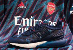 Image de l'article Des sneakers adidas aux couleurs des maillots third d'Arsenal, de la Juventus, de Man Utd et du Bayern
