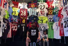 Image de l'article Pour les échanges de maillots, Lionel Messi observe quelques règles