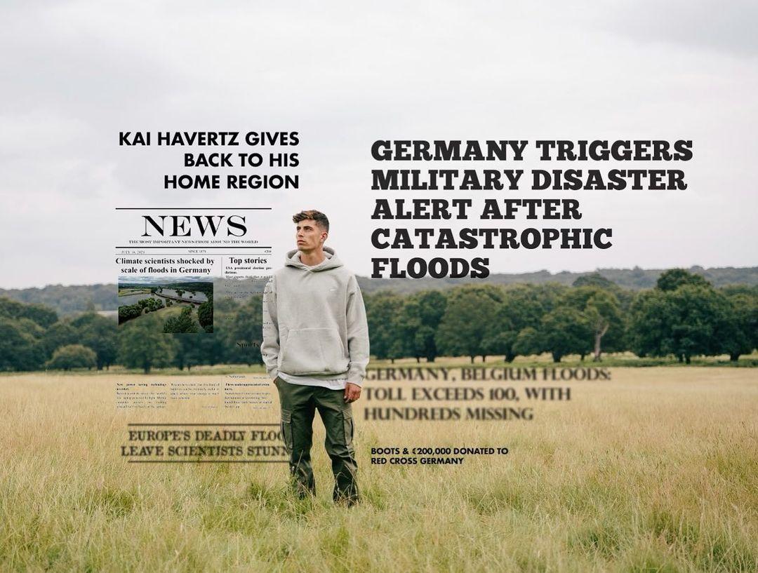 Crampons Kai Havertz Croix Rouge