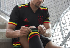 Image de l'article Un hommage à Bob Marley sur le maillot third de l'Ajax !