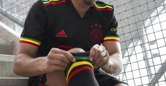 Image de l'article Un hommage à Bob Marley sur le maillot third de l'Ajax!