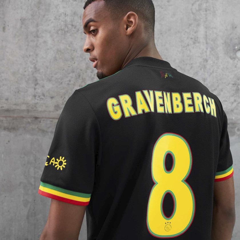 Maillot Ajax 2021-2022 third Bob Marley