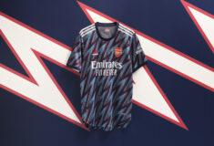 Image de l'article adidas présente le nouveau maillot third d'Arsenal 2021/22