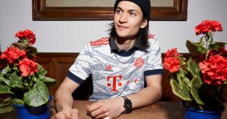 Image de l'article Le maillot third du Bayern Munich, inspiré par les Alpes!