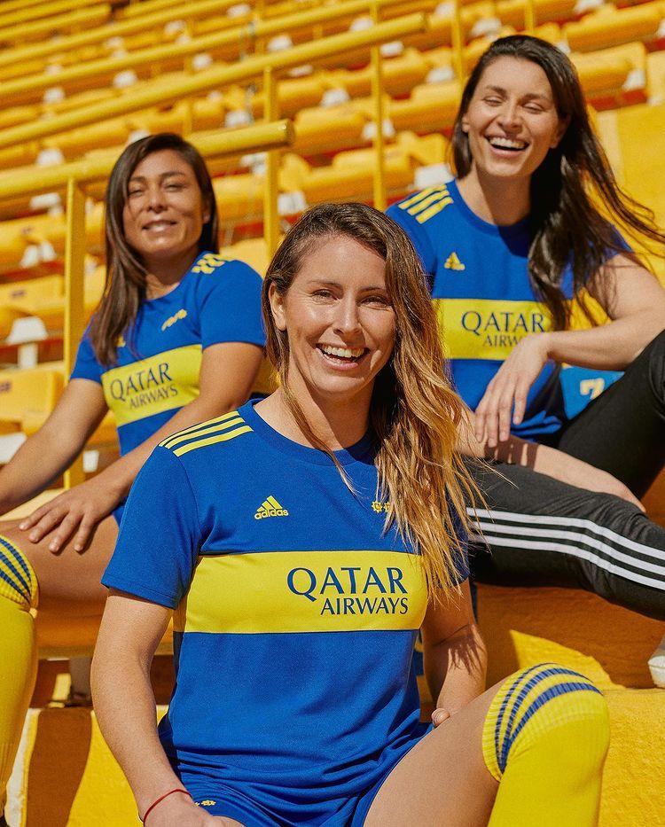 Maillot Boca Juniors 2021-2022 domicile