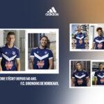 Les maillots de Bordeaux 2021-2022 révélés par adidas