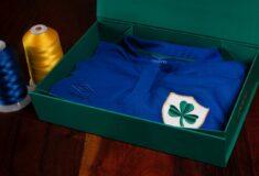 Image de l'article La sélection irlandaise fête ses 100 ans avec un maillot spécial