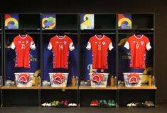 Image de l'article En litige avec Nike, le Chili va jouer avec des maillots d'une autre marque pour les prochains matchs