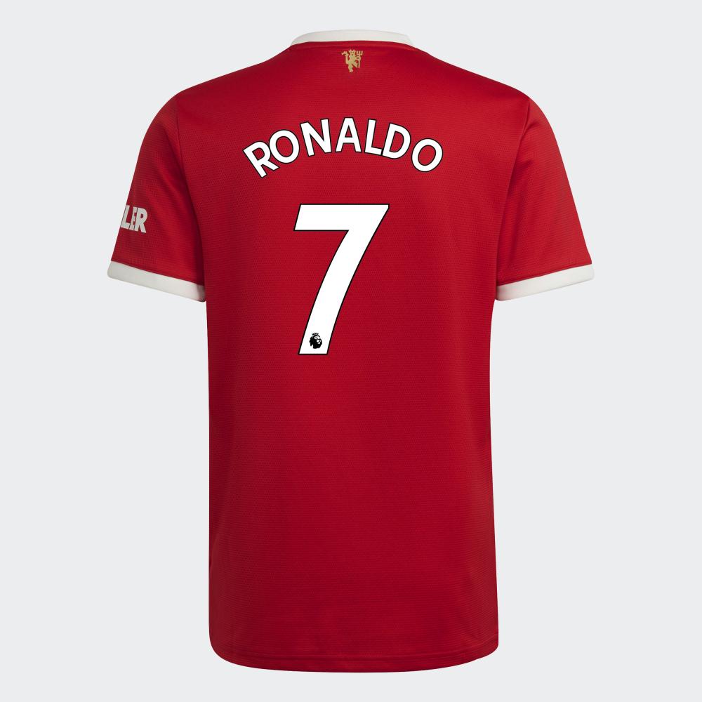Numero Cristiano Ronaldo Manchester United