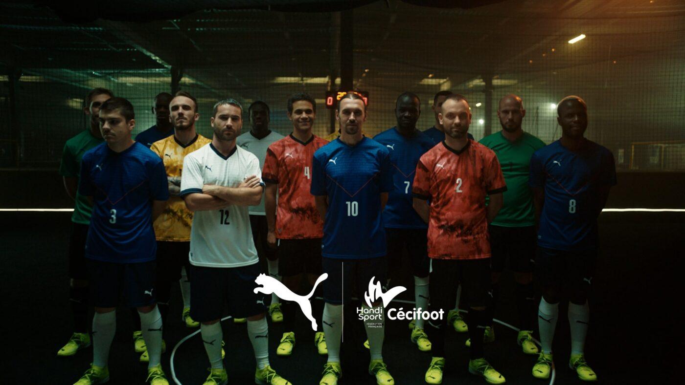Maillot équipe de France Cécifoot