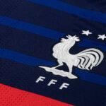 Les crampons des joueurs de l'équipe de France – septembre 2021