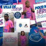 Du rose pour le maillot third de l'ESTAC 2021-2022
