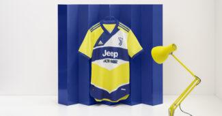 Image de l'article La Juventus s'inspire des années 90 pour son maillot third