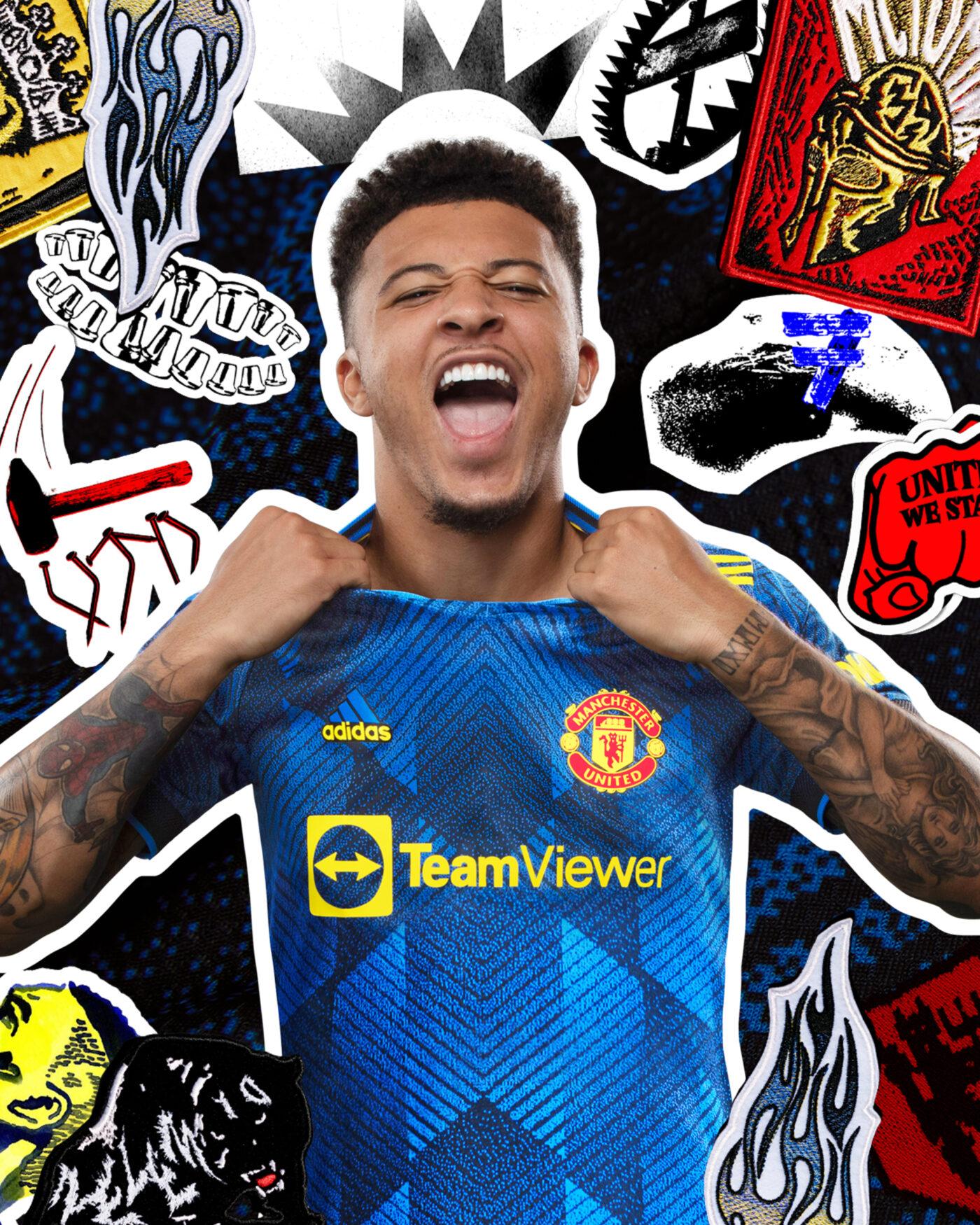 Maillot Manchester United third 2021/22 adidas