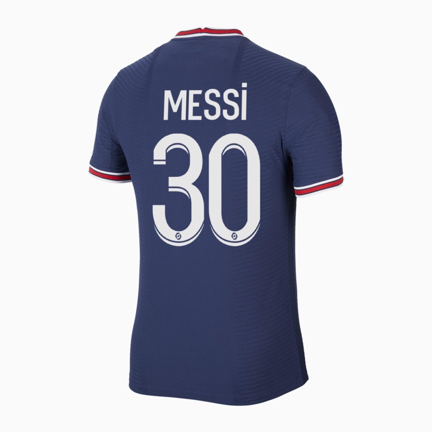Maillot Messi PSG numéro 30