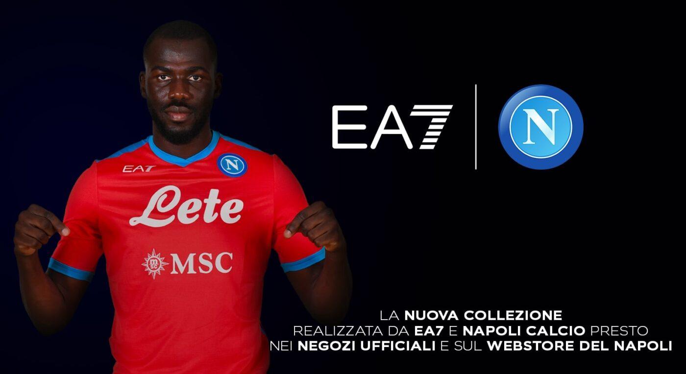 Maillot Napoli 2021-2022 EA7