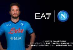 Image de l'article Emporio Armani et le Napoli présentent les maillots 2021-2022 !