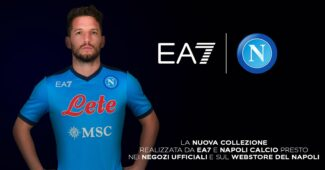 Image de l'article Emporio Armani et le Napoli présentent les maillots 2021-2022!