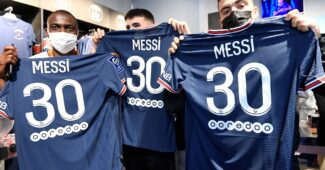 Image de l'article Messi : 900 000€ de maillots du PSG vendus en 3h!