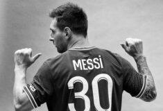 Image de l'article Maillot de Messi au PSG «Le trend de vente a été phénoménal mais on est très loin du million de maillots vendus»