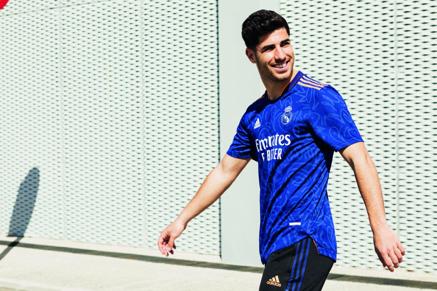 Maillot Real Madrid 2021-2022 extérieur adidas