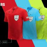 Macron dévoile les nouveaux maillots des arbitres UEFA