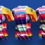Hummel dévoile un maillot d'échauffement arc-en-ciel pour Everton, Southampton et Brondby