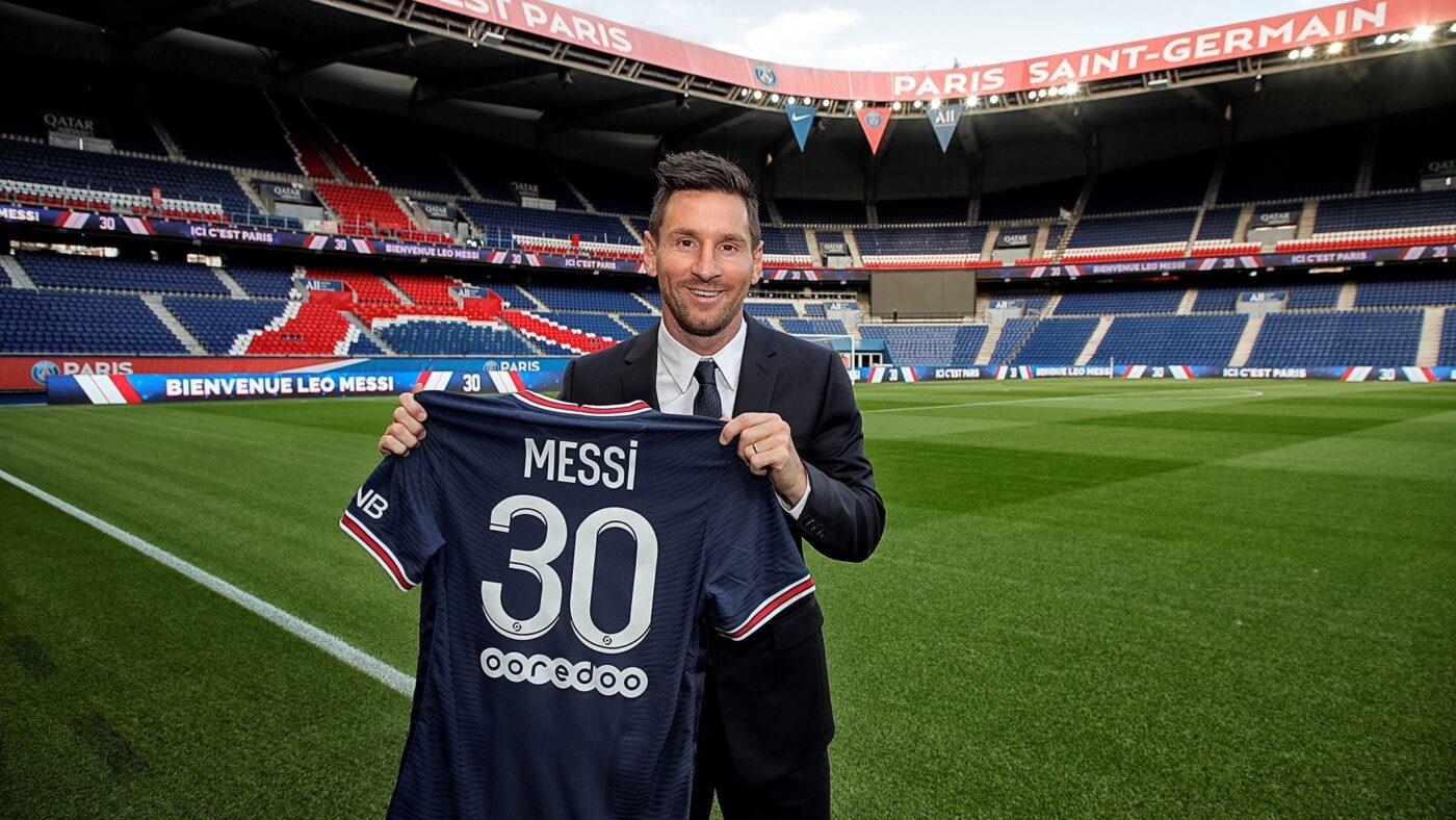 Maillot Messi numéro 30 PSG