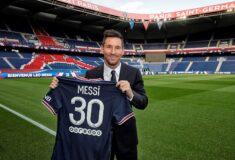 Image de l'article Pourquoi Messi porte le numéro 30 au PSG ?