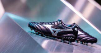 Image de l'article Mizuno présente la Morelia DNA, sa chaussure de foot hybride