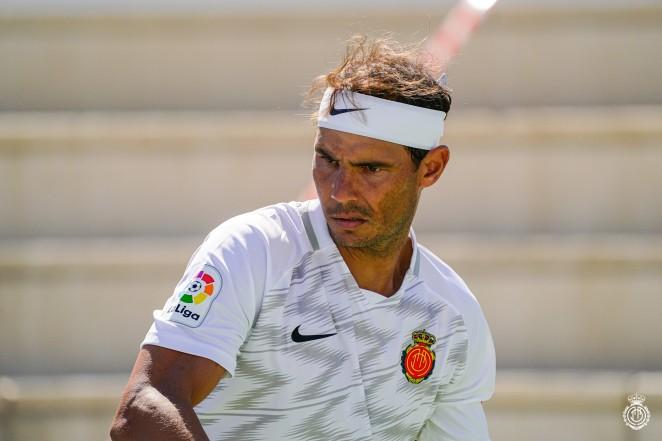 Rafael Nadal maillot Real Majorque