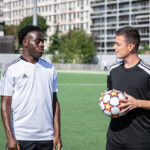{Vidéo} : On affronte Arnaud Kalimuendo et Kadidiatou Diani!